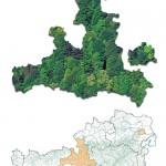 In Österreich gibt es rund 830.000 <span class='term-desc-marker' alt='Hektar'>Hektar</span> <span class='term-desc-marker' alt='Schutzwald'>Schutzwald</span>. Das entspricht der Größe der Bundesländer Salzburg und Wien zusammen