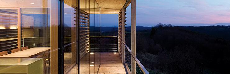 Energiesparend bauen mit Holz - Niedrigenergie- und Passivhäuser