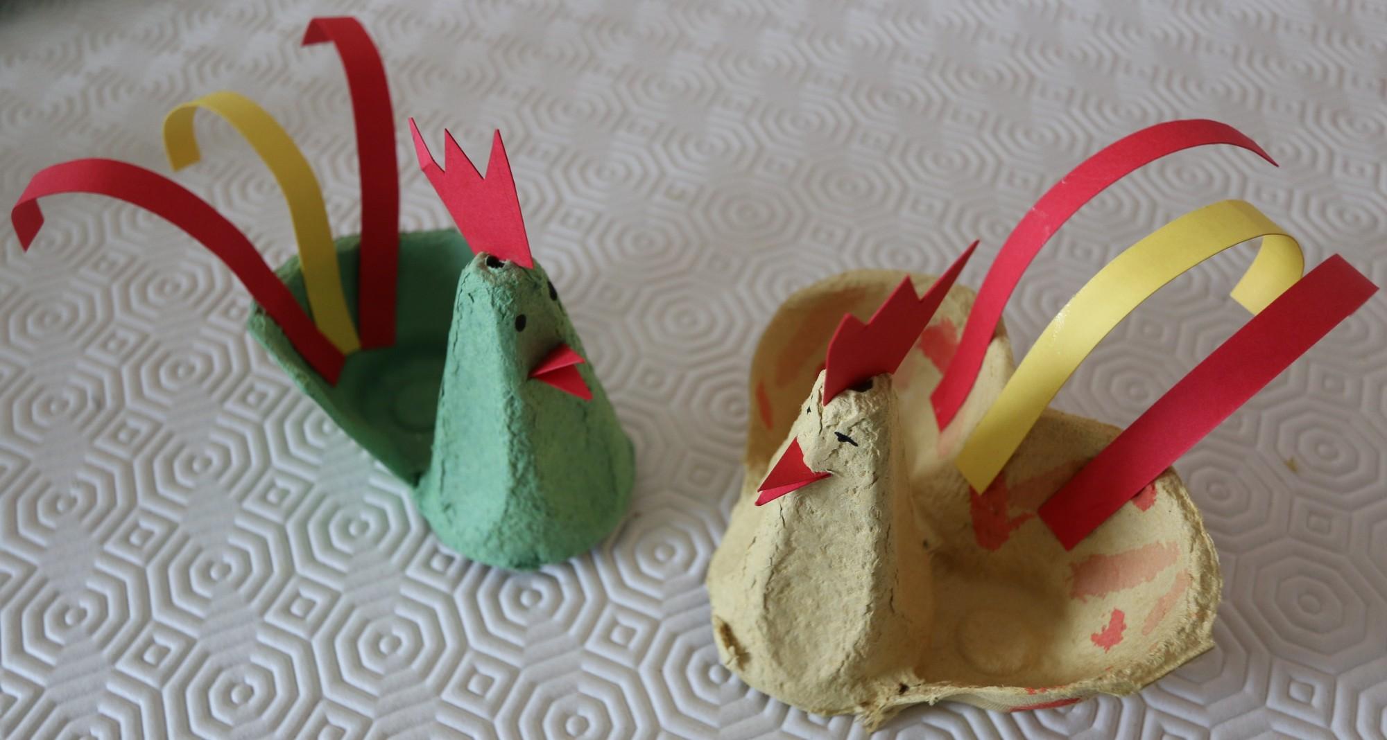 Unbefüllte Osterküken