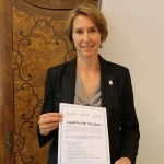 Andrea Moser, Geschäftsführerin des Biosphärenpark Wienerwald