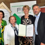 Nationalratsabgeordnete Fichtinger, Diesner-Wais, Groiß und FHP Geschäftsführerin Hackl