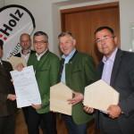 l.n.r: Rosenstatter, Grill, Schwaiger,  Eßl, Lienbacher
