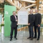 lnr: Schultes (Präsident LK NÖ), Auer (Vizepräsident), LKR Fischer