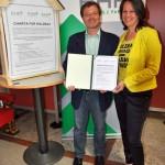 NR Wolfgang Pirklhuber (O), NR Christiane Brunner