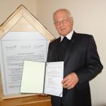 Abtpräses Christian Haidinger, Vorsitzender der Superiorenkonferenz