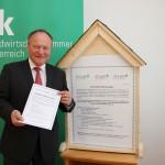 NR Hermann Schultes, Präsident der Landwirtschaftskammer NÖ und Österreich