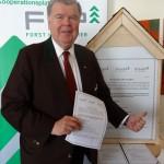 KR Hans Michael Offner, Obmann proHolz Austria