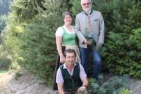 """Die Organisatoren des """"Tag des Waldes"""": Gerhard Blabensteiner, Doris Maurer, Herbert GrulichGrulich"""
